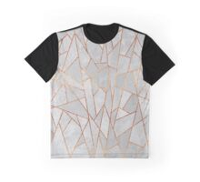 Shattered Concrete Graphic T-Shirt