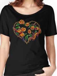 Rodimus & Roses Women's Relaxed Fit T-Shirt