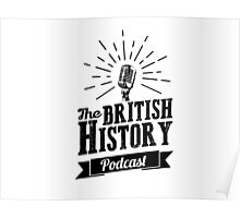 The British History Podcast Retro style Poster