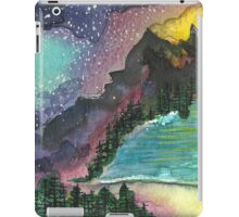 Nightsky and Lake iPad Case/Skin
