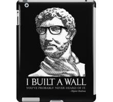 Hipster Hadrian iPad Case/Skin