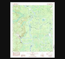 USGS TOPO Map Alabama AL Bilbo Island 331455 1983 24000 Unisex T-Shirt