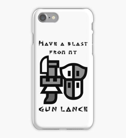 Monster Hunter Gunlance iPhone Case/Skin