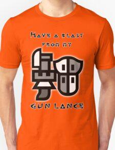 Monster Hunter Gunlance Unisex T-Shirt