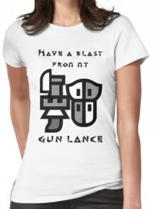 Monster Hunter Gunlance Womens Fitted T-Shirt