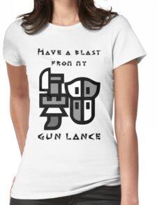 Monster Hunter Gunlance Womens Fitted T-Shirt
