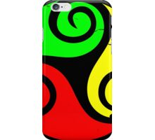Reggae Flag Chilling Vibes - Cool Reggae Flag Colors Gifts iPhone Case/Skin
