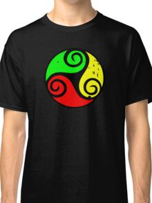 Reggae Flag Chilling Vibes - Cool Reggae Flag Colors Gifts Classic T-Shirt