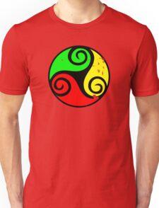 Reggae Flag Chilling Vibes - Cool Reggae Flag Colors Gifts Unisex T-Shirt