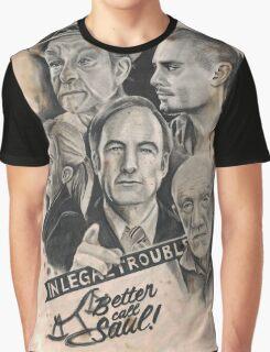 Better Call Saul Caffeine Shock Graphic T-Shirt