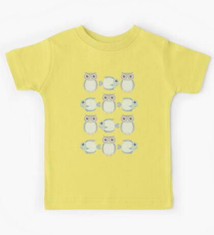 Owls & Fish Kids Tee