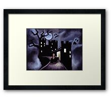 Once Upon a Haunted Fairy Tale Framed Print