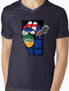 Fort McMurray fire - Unity, Generosity & Strength  Mens V-Neck T-Shirt