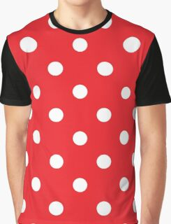 Polka dot fabric. Retro vector background Graphic T-Shirt