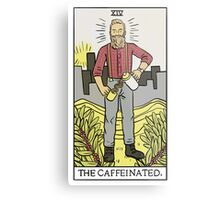 Modern Tarot - The Caffeinated Metal Print