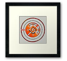 Good Vibes! Abstract Geometry Cool Design Framed Print