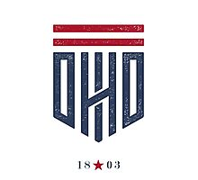 Ohio Shield Photographic Print