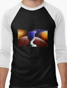 Pensée Men's Baseball ¾ T-Shirt
