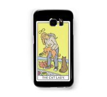 Modern Tarot - The Cat Lady Samsung Galaxy Case/Skin