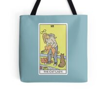 Modern Tarot - The Cat Lady Tote Bag