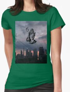 Views - Facing West Womens Fitted T-Shirt