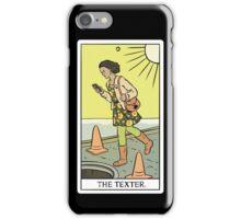 Modern Tarot - The Texter iPhone Case/Skin