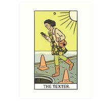 Modern Tarot - The Texter Art Print