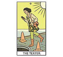 Modern Tarot - The Texter Photographic Print