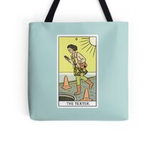 Modern Tarot - The Texter Tote Bag