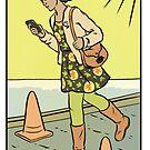 Modern Tarot - The Texter by Alice Carroll