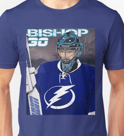 Ben Bishop Tampa Bay Lightning Goalie Bolts Unisex T-Shirt