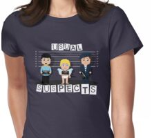 Usual Suspects Womens Fitted T-Shirt