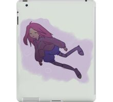 Floating Girl Illustration iPad Case/Skin