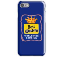BEST WESTERN 4 iPhone Case/Skin