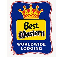 BEST WESTERN 4 Photographic Print