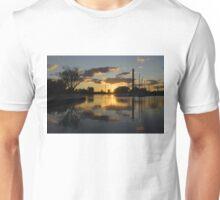Burning Sunset at the Beaches Marina Unisex T-Shirt