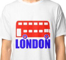 LONDON-DOUBLE DECKER BUS Classic T-Shirt