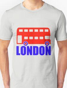 LONDON-DOUBLE DECKER BUS Unisex T-Shirt