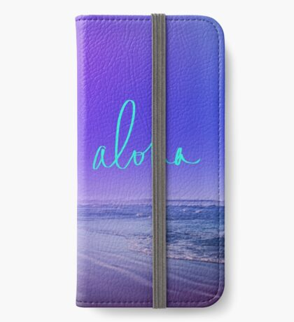 Aloha iPhone Wallet/Case/Skin