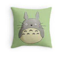 chibi totoro Throw Pillow