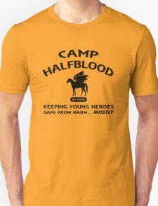 Camp Halfblood in Black Unisex T-Shirt
