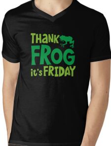 THANK FROG It's FRIDAY! Mens V-Neck T-Shirt