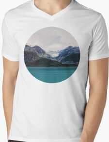 Alaska Wilderness Mens V-Neck T-Shirt