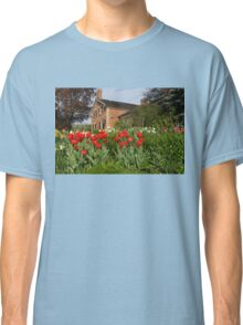Tulip Garden - Marvelous Spring Flower Beds With Red Tulips and More Classic T-Shirt