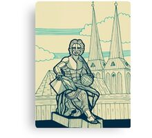Berlin - Allegory of Science Canvas Print