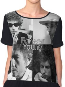 bob dylan - forever young Chiffon Top