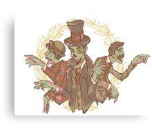 Gentleman Zombies Canvas Print