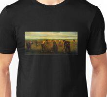 'Farmers' by Vincent Van Gogh (Reproduction) Unisex T-Shirt
