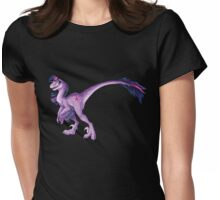 Raptor Twilight Sparkle Womens Fitted T-Shirt
