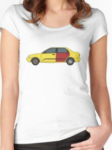 Better Call Saul: Sedan Women's Fitted Scoop T-Shirt